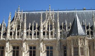 Flamboyant - Palais de Justice de Rouen
