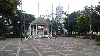 Tabio - Central square of Tabio