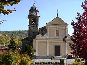 San Pietro Val Lemina - Parish church.