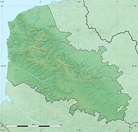 Voir sur la carte topographique du Pas-de-Calais