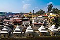 Pashupatinath temple on sunny day
