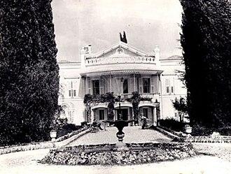 """Bornova - """"Paterson Mansion"""" in the middle of Bornova urban zone in a photograph showing its original state."""