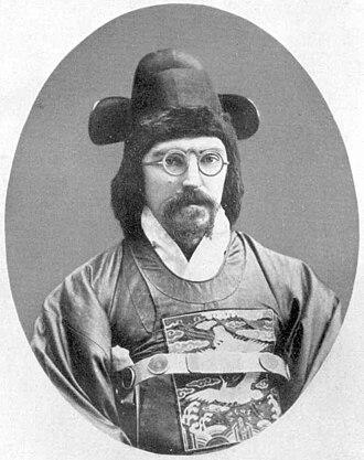 Paul Georg von Möllendorff - Möllendorff in official Korean dress