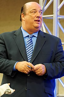 Paul Heyman American professional wrestling manager and promoter