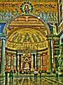 Pauls Kathedrale - Altarraum -- Rom (8175196704).jpg