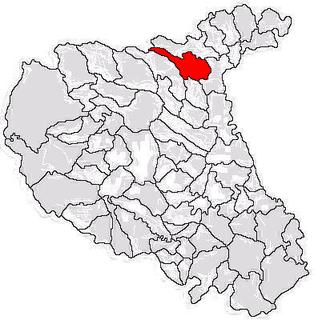 Păunești Commune in Vrancea, Romania