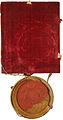 Pečat cesarja Ferdinanda III na plemiški diplomi Franca Adama Langenmantla.jpg