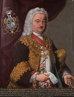 Pedro Cebrián, 5th Count of Fuenclara Spanish viceroy