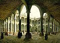Pedro Gualdi, Interior of the Royal and Pontificial University of Mexico, ca. 1840.jpg