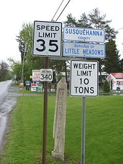 Little Meadows, Pennsylvania Borough in Pennsylvania, United States