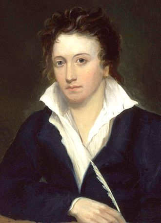 University College, Oxford - Image: Percy Bysshe Shelley by Alfred Clint crop