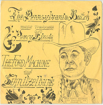 Schnitzelbank - Dutch Country troubadour Percy Einsig, 45 RPM Up-Town Records