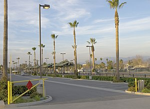 Perris, California - Former Perris railway station