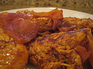 English: Peruvian Adobo Chicken (made from Aji...