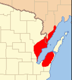 Peshtigo Fire - Extent of wildfire damage