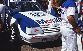 Holden Commodore (VK) - the near standard VK at Wanneroo 1985, raced by Peter Brock