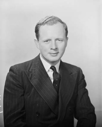 Peter Howson (politician) - Howson in 1956.