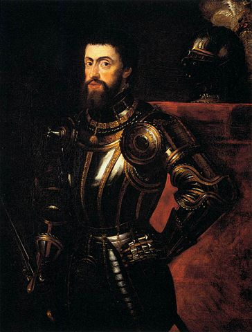 Копия тициановского портрета Карла V. Масло, холст. 118,8 × 61,6 см. Англия, частное собрание