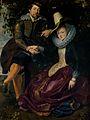 Peter Paul Rubens - Rubens en Isabella Brant in de Kamperfoelie Bower.jpg