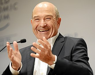 Peter Sauber - Sauber at the World Economic Forum Annual Meeting in 2013