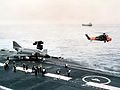 Phantom FG.1 on cat of HMS Ark Royal (R09) 1970.jpg
