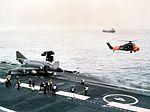 Phantom FG.1 on cat of HMS Ark Royal (R09) 1970.jpg