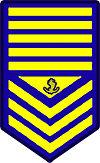 Philippine Coast Guard Master Chief Petty Officer Rank Insignia