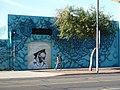 Phoenix, AZ, Chocolate Factory, Luster Kaboom Wall, El Mac Door, 2012 - panoramio.jpg