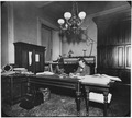 Photograph of two San Francisco Mint employees working on the account books. - NARA - 296549.tif