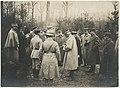 Photographie de membres l'Etat Major en forêt de Champenoux.jpg