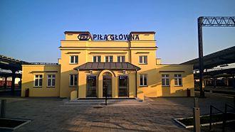 Piła Główna railway station - Piła Główna railway station