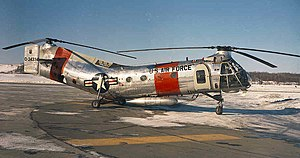 Tandem rotors - A Piasecki H-21B at Elmendorf AFB in the early 1960s