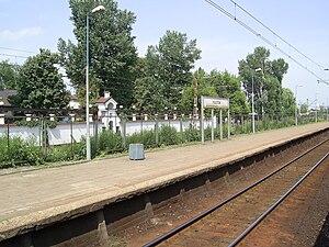 Piastów railway station - Image: Piastow, stacja kolejowa