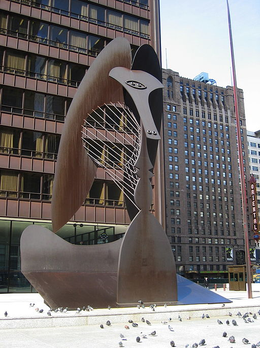 """""""Chicago Picasso"""" by Pablo Picasso"""