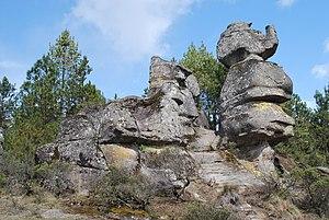 Piedras Encimadas Valley - One of the many rock formations