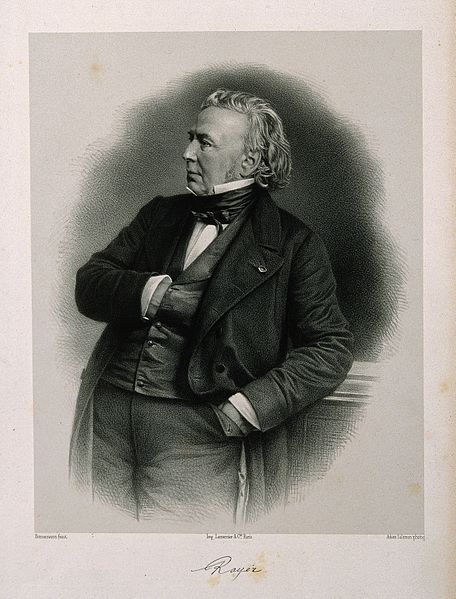File:Pierre-François-Olive Rayer. Lithograph by Bornemann after A Wellcome V0004944.jpg