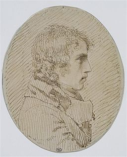 Pierre Paul Prudhon Selbstporträt
