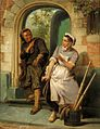 Pieter Alardus Haaxman Chimney sweeper and the maid 1876.jpg