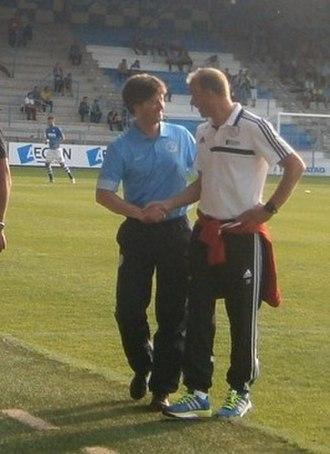 Pieter Huistra - Pieter Huistra (left)