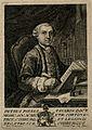 Pietro Paola Tanaron. Line engraving by J. Lapi, 1768, after Wellcome V0005720.jpg