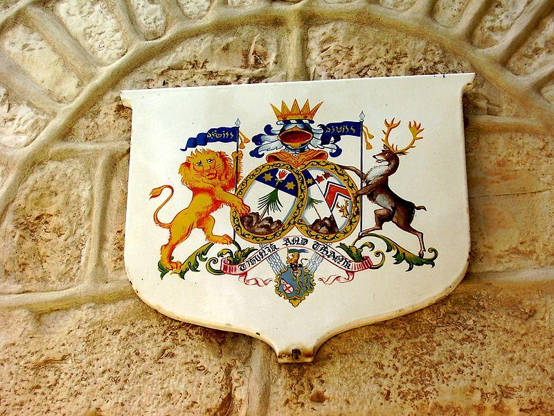 טחנת הרוח בימין משה-סמל משפחת מונטיפורי