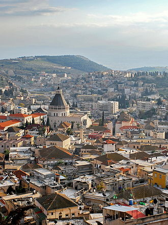 Arab citizens of Israel - Nazareth, which is a mixed ancient city of Muslims and Christians, is the largest Arab city in Israel.