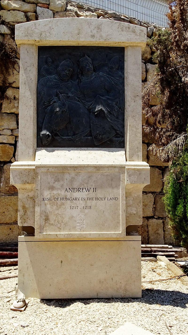 אנדרטת אנדריאש השני במעיליא