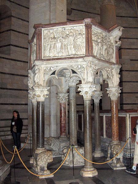 File:Pisa.Baptistery.pulpit01.jpg