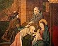 Pittore napoletano forse da jan van eyck, adorazione dei magi, 1455-60 (gall. sabauda) 03.JPG