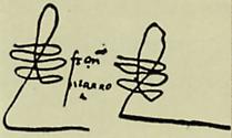 Francisco Pizarro's signature