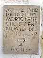 Placa comemorativa Entrada do Forte de Monte Serrat SalvadorBA.jpg