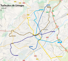 Image illustrative de l'article Trolleybus de Limoges
