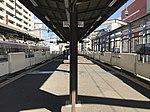 Platform of Meinohama Station 3.jpg