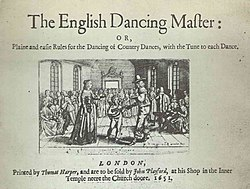 Image illustrative de l'article The English Dancing Master